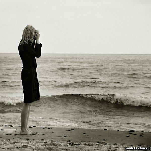 картинки грустные девушек